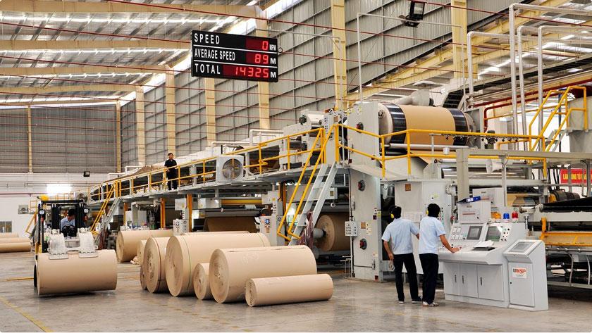 Dây chuyền sản xuất carton sóng